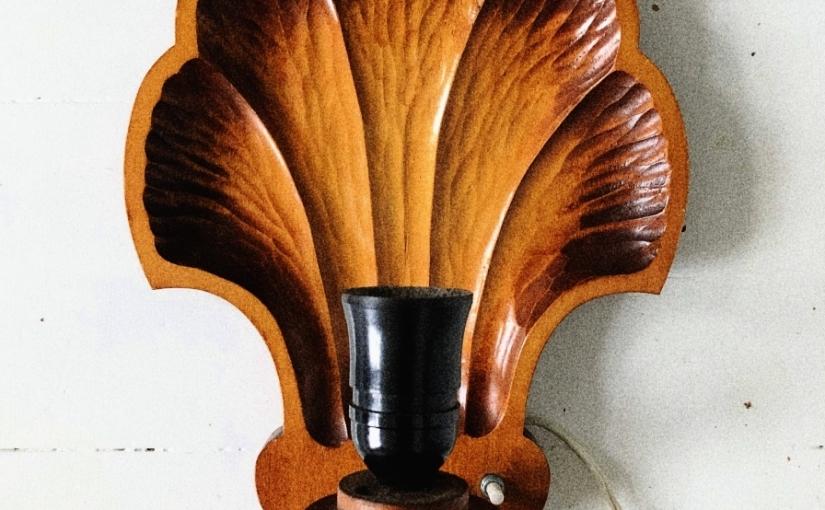 Trä och keramik