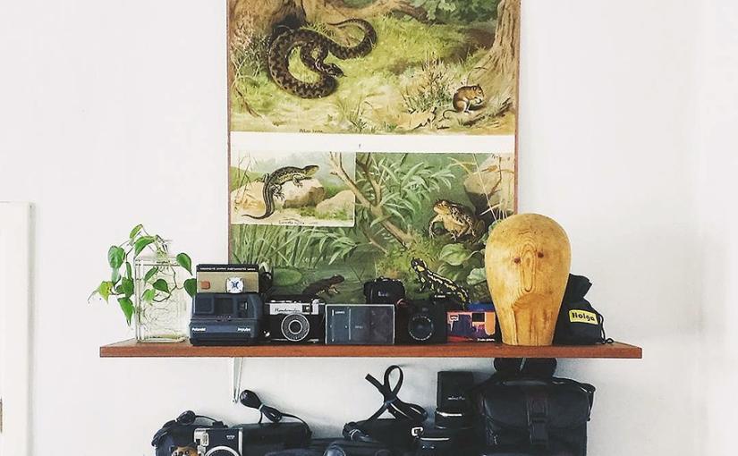kamerahyllan, fotolistan, klicksägandet