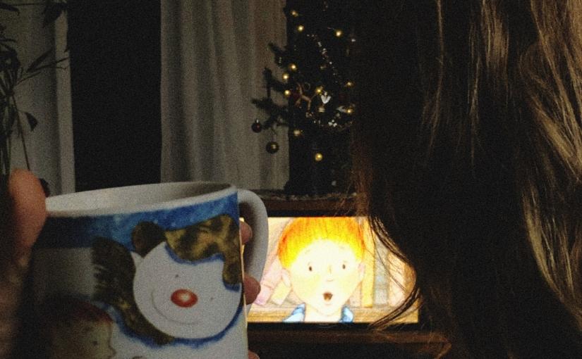 Snögubbe, julklapp, isberg